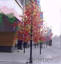 LED Artifical Maple Leaf Tree Lights Flower String Christmas Festival Decorative Light Red/Yellow 346W CM-SLGFZ-5760L1