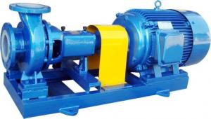 Fluoroplastic Lined Centrifugal Pump