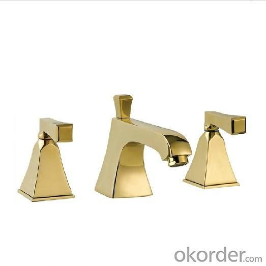 Newest Double Handle Square Faucet