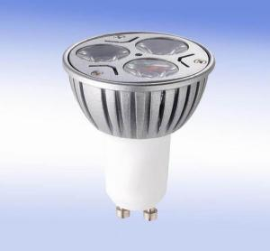 LED 3x1W Spot Light Gu10 Dia-cast Aluminum  110-240V