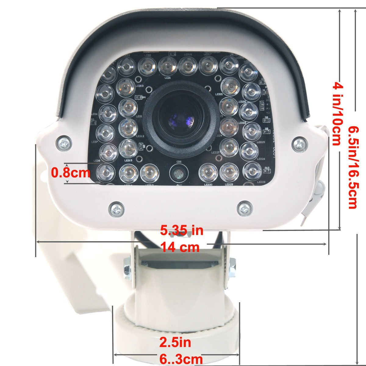 420TVL 36 IR LED CCTV Security Bullet Camera Outdoor Series FLY-3012