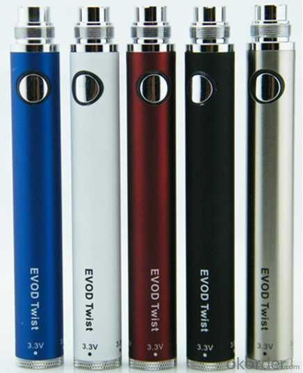 Electronic Cigarette EVOD TWIST Battery 650/900/1100mah
