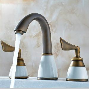 Brass Faucet With Two Hadles