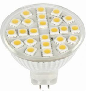 LED 3W Spot Light MR16 Base SMD LED Chip 12V/24V