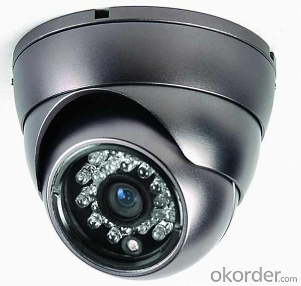 Hot Sell 700TVL CCTV Security Dome Camera Indoor Series 24 IR LED FLY-401A