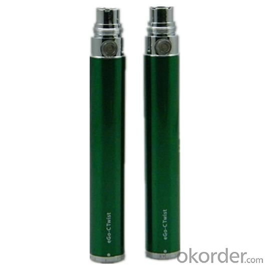 Electronic Cigarette Ego-C Twist Battery 650/900/1100/1300mah