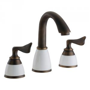 New Design Antique Plated Faucet With Two Bress Handles