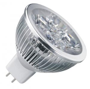 LED 4x1W Spot Light MR16 Base Dia-cast Aluminum 12V/24V