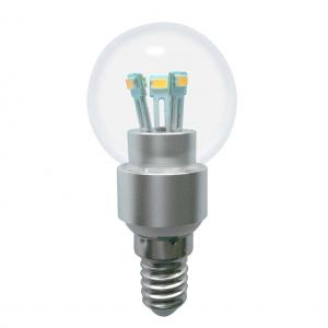 Dimmable LED Globe Bulb G40 3W E14 180lm 85-265V E14/E17B15 SMD LED Chip Clear/Frosted/Milky Glass Cover