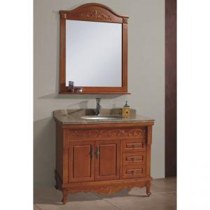 Luxury Oak Bath Vanity Cabinet