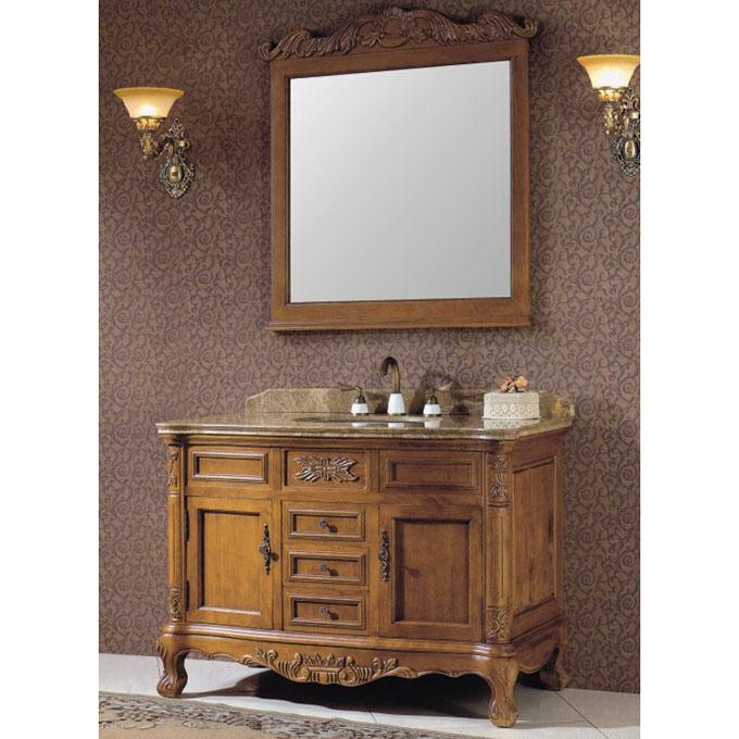 Hot Sale Oak Bath Cabinet Bathroom Vanity