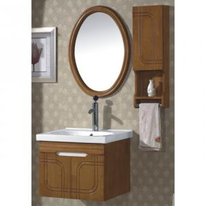 Popular Oak Bath Mirror Cabinet