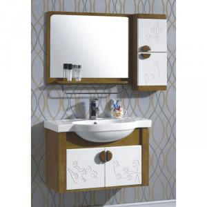 High Quality Wood Bathroom Cabinet