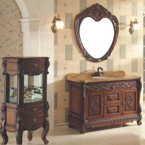 2014 Good Quality New Wood/Oak Bathroom Cabinet