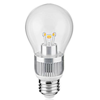 LED Globe Bulb A50 5W E14 380lm 85-265V E26/E27/B22 SMD LED Chip Clear/Frosted/Milky Glass Cover