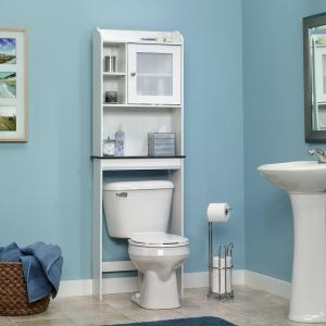 Hot Sale White Bath Shelf Bath Cabinet