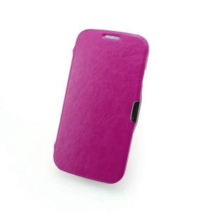 China Manufacturer For Samsung Galaxy S4 I9500 Smart Cover Case Auto Wake Sleep PU Leather Back Cover Case Purple Colorful