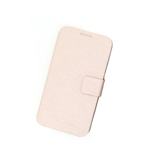 Luxury PU Leather Upstanding Book Style Case Cover for Samsung Galaxy S4 (I9500) Pink