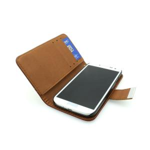 High Quality Wallet Pouch Stand Case for Samsung Galaxy S4 (I9500) PU Leather Cover White