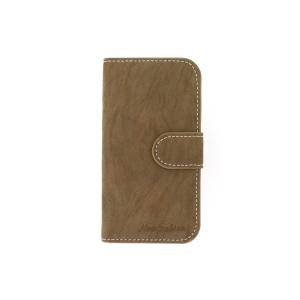 Brown Luxury PU Leather For Samsung Galaxy S4 (I9500) Wallet Pouch Stand Case Cover