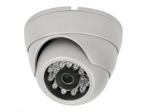 Hot Sell 650TVL CCTV Security Dome Camera Indoor Series 24 IR LED FLY-4016 White