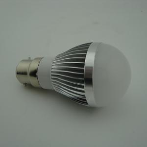 LED Bulb PC Cover Wide Light Beam Angle 3W E27