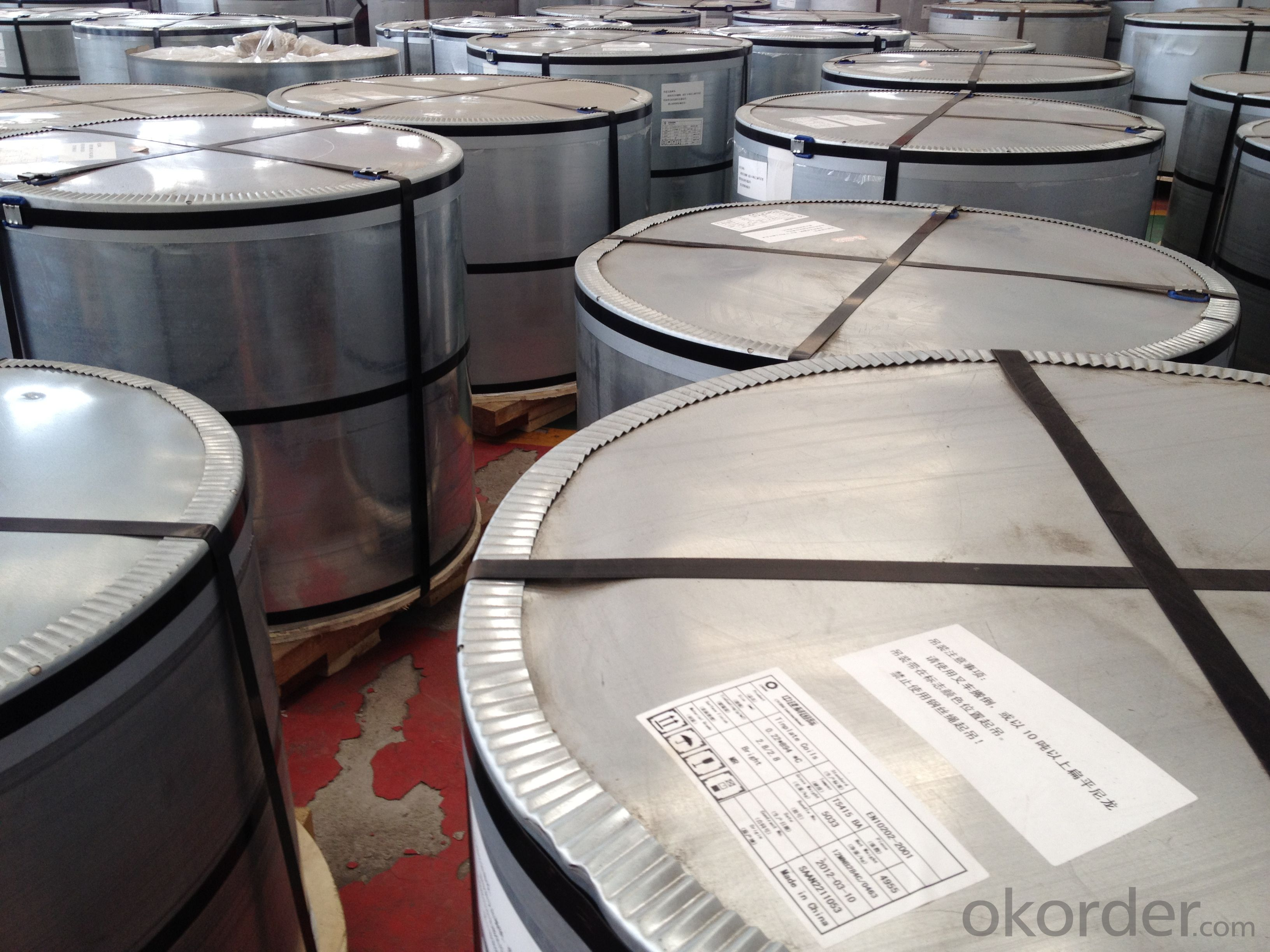 Hot Sale And High Guality Tinplate For Seafood Can-CHBA