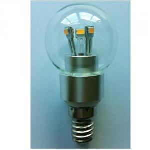 G50 4W E14 280lm LED Globe Bulb 85-265V E12/E14/E17/E26/E27/B15/B22 SMD LED Chip Clear/Frosted/Milky Glass Cover