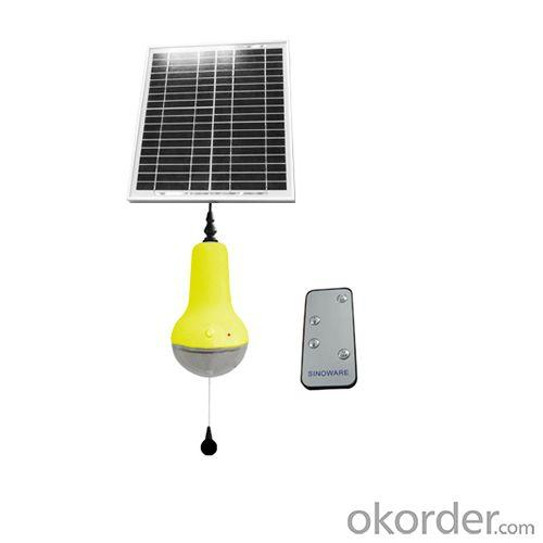 China Manufacturer Newest Remote Control Solar Lamp Wide Control Range 180 Degree 220lm Solar Indoor Lights Yellow