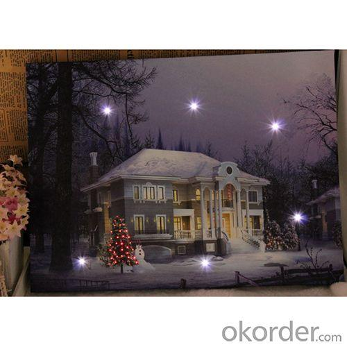 Big House Led Picture Frame Wall Picture