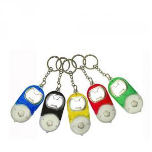 PVC Led Keychain With Flashlight