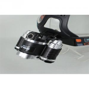 CREE XM-L T6 Rechargeable Motorcycle LED Headlamp 5000 Lumen
