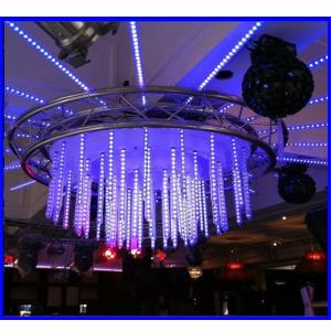 1M 360 Degree Dmx Led Meteor Light Tube/Led 3D Vertical Tube