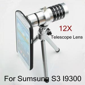Aluminum New 12X Zoom Telescope Lens Optical Telescope Objective Lens For Sumsung Iphone Smartphone Lens