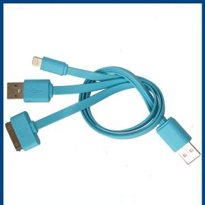 3 In 1 Usb Cable For Iphone Charging Cable