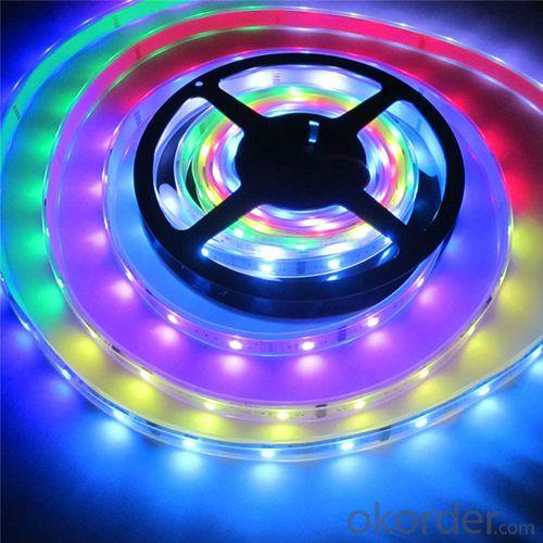 14.4 Watt Per Meter 5050 Addressable Rgb Led Strip Lights 12V