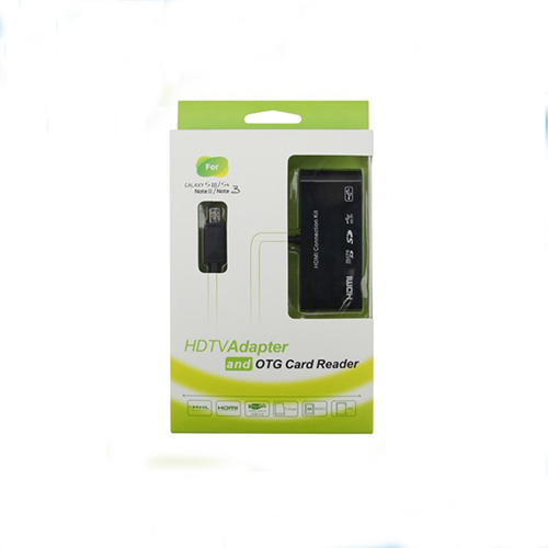 MHL HDTV Adapter &; HDMI Connection Kit &; Micro USB OTG Card Reader for samsung galaxy S3/S4/Note 2