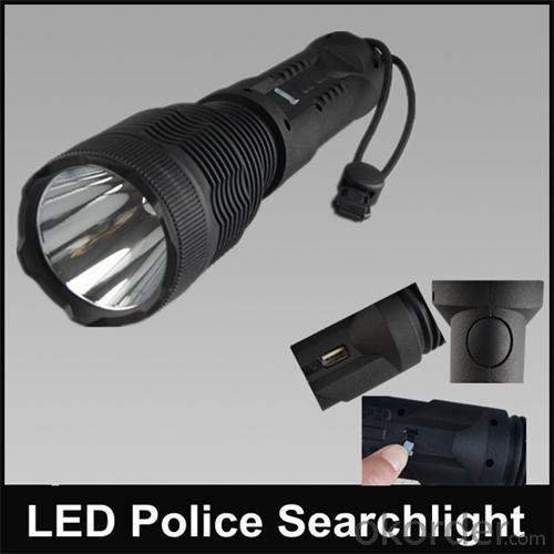 Cree Led Hunting Spotlight Rechargeable Torchlight Cree Led Flashlight
