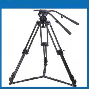 Professional Video Camera Tripod Secced Reach Plus 4 Tripod Kit With Pan Bar And Ground Spreader Loading 32Kg