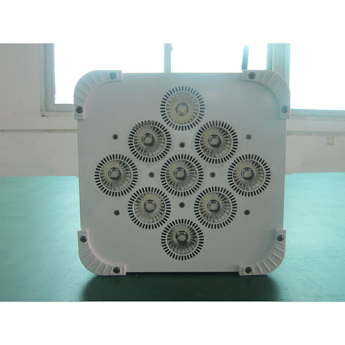 9X15W Rgbwa 5In1 Leds High Power Dmx512 Stage Equipment Led Flat Par Light