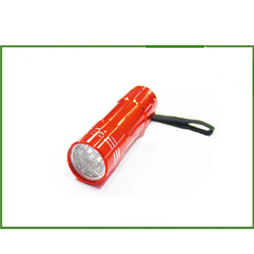Waterproof Led Flashlight Hot Sale Red Led Flashlight 9led