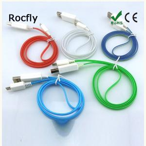 New Colorful Led Light Cable Micro Usb For Smartphones