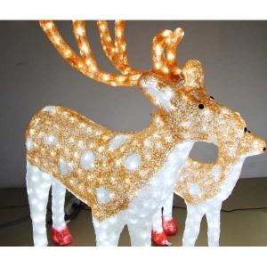 Christmas Decoration Motif 3D Sika Deer/Christmas Lights Tradition/Christmas Led Light Animals