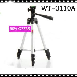 Universal Flexible Wt-3110A Portable Camera Tripod For Sony Canon Nikon + Bag #14111