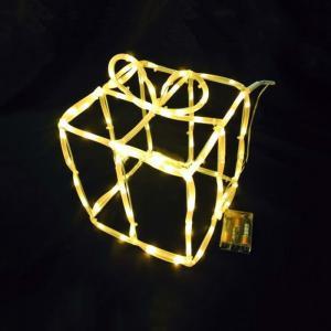 Warm White Gift Box Motif Light Christmas Lighting