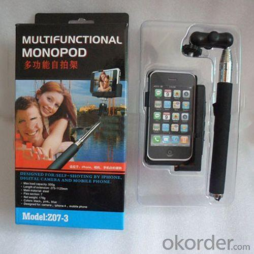 Self-Shooting Mini Flexible Monopod For Iphone With Hand Held