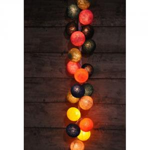 Cotton Ball String Lights Ce,Gs,Saa,Uk,Ul &Amp; Led Series