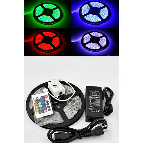 16.4 Ft Rgb Color Changing Kit With Led Flexible Strip