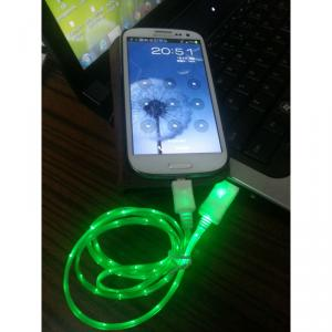 Usb Led Cable For Samsugn Galaxy Sync Data Cable