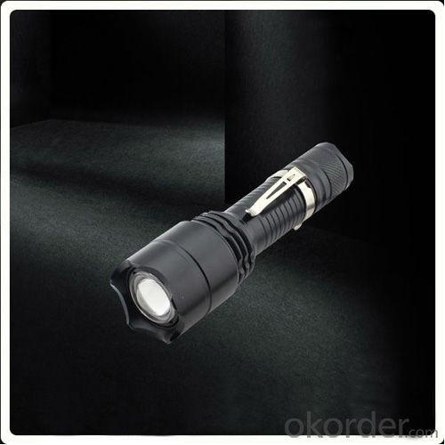 CREE T6 Hight Power 500LM Zoom Flashlight Most Powerful Cree Flashlight Led For Sale